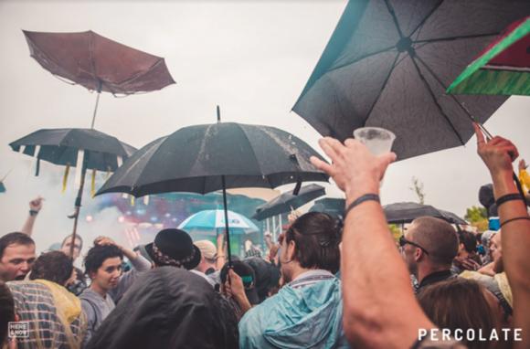 Percolate Open Air Rain