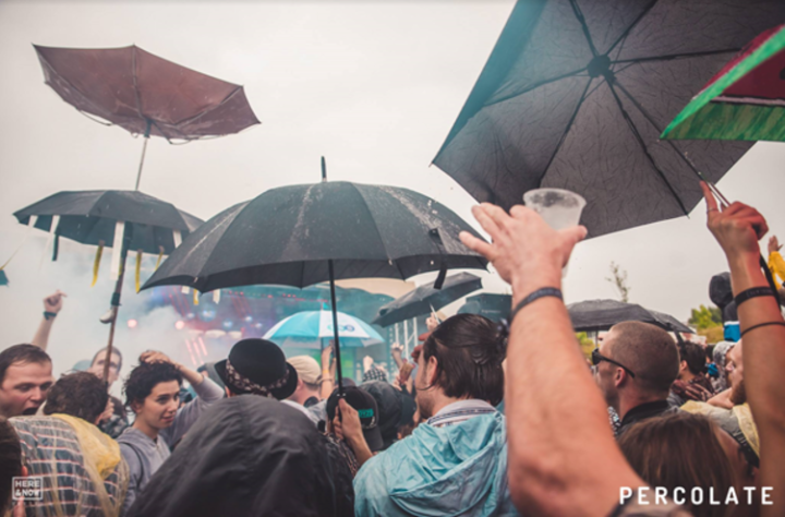 Percolate Open Air Rain