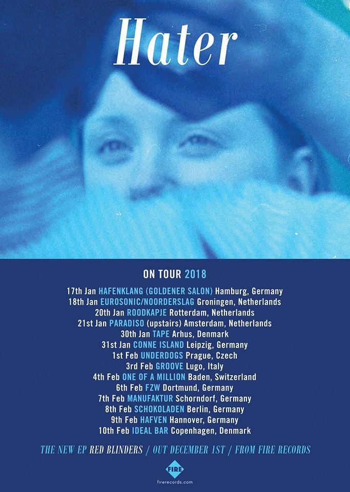 Hater tour dates