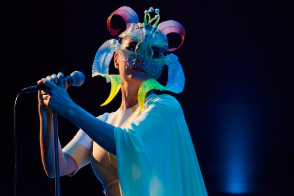 Bjork Performs in Concert At Iceland Airwaves